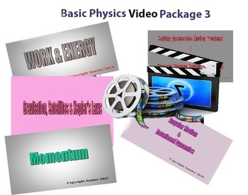Basic Physics Video Package 3