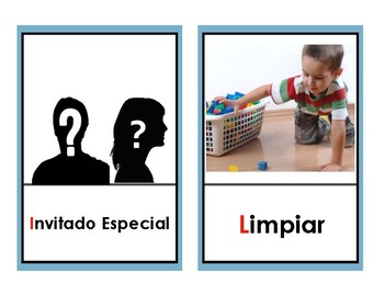 Basic Picture Schedule| ESPAÑOL