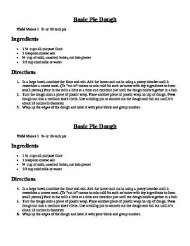 Basic Pie Crust
