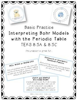 Basic Practice - Interpreting Bohr Models