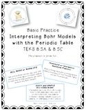 Basic Practice - Interpreting Bohr Models and Atoms
