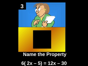 Basic Pre-Algebra Review (Hollywood Squares)