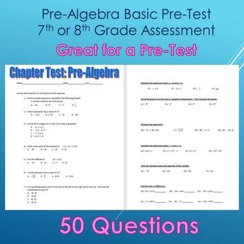 Algebra 1 Chapter 1 Assessment Worksheets Teachers Pay