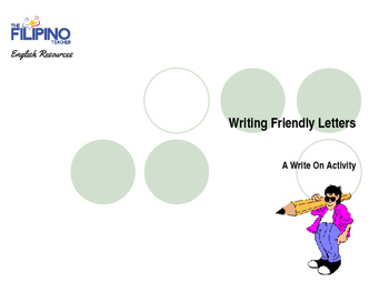 Basic Presentation on Writing Letters