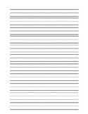 Basic Primary Writing Paper
