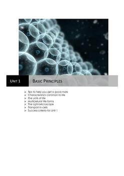 Basic Principles of Biology