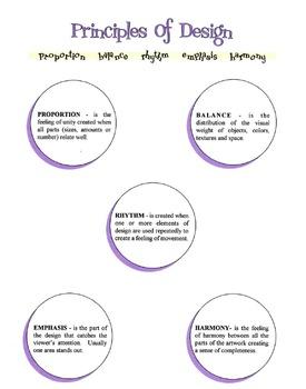 Basic Principles of Design Lesson