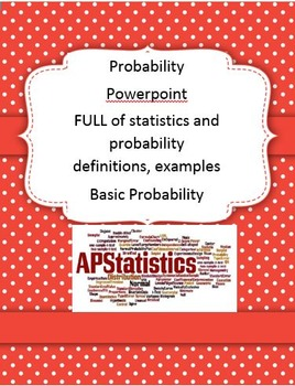 Basic Probability Part 2 With Many Examples Statistics PowerPoint