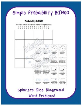 Basic Probability Single Event BINGO
