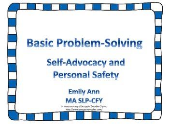 Basic Problem-Solving