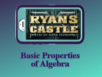 Basic Properties of Algebra PowerPoint & Quizzes