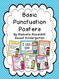Basic Punctuation Classroom  Posters