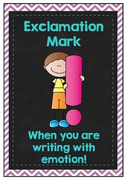 Basic Punctuation Posters