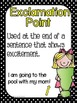 Basic Punctuation Posters {Black and White}