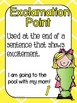 Basic Punctuation Posters {Bright Colors Theme}