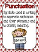 Basic Punctuation Posters {Circus Tents}