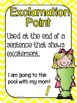 Basic Punctuation Posters {Primary Chevrons}
