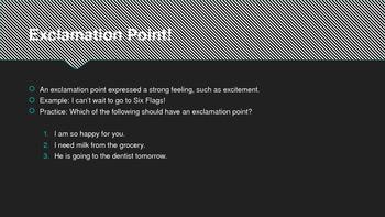 Basic Punctuation Presentation