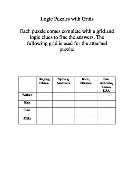 Basic Puzzle - Geography Theme