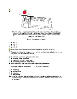 Basic Quiz on Labatory