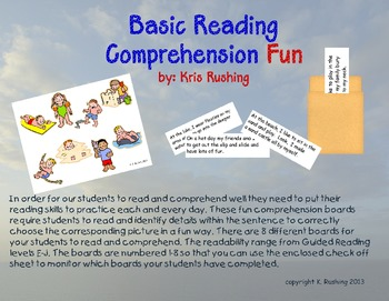 Reading Comprehension Fun