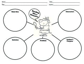 Basic Reading Comprehension Graphic Organizers