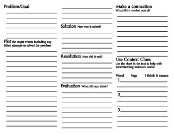 Basic Reading Comprehension Trifold