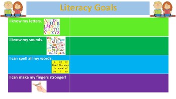 Basic Reading, Writing and Literacy Goals.