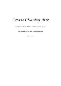 Basic Reading list