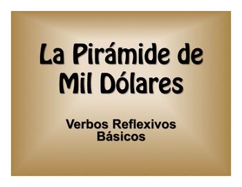 Spanish Reflexive Verb $1000 Pyramid Game