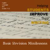Basic Revision Minis