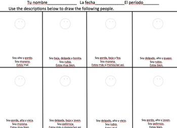 Basic SER Descriptions Drawing Activity