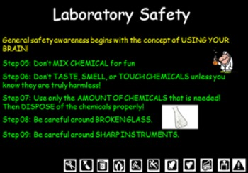 Basic Science (Lab Safety) PowerPoint.