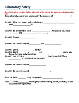 Basic Science (Lab Safety Handout)