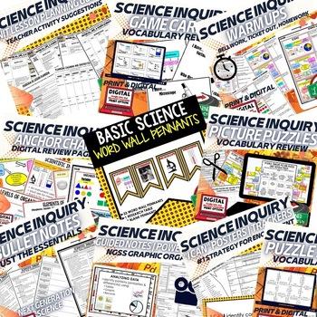 Basic Science and Scientific Inquiry Bundle