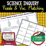 Basic Science and Scientific Inquiry Puzzle Google and Print