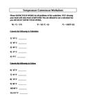 Basic Scientific Measurements and Temperature Conversion