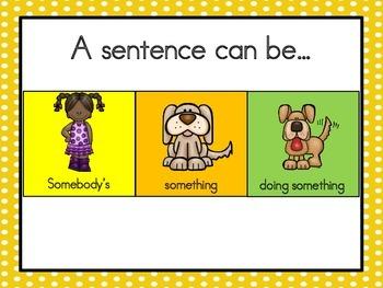 Basic Sentence Writing Kit 2