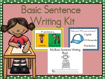 Basic Sentence Writing Kit