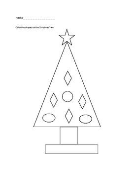 Basic Shape Christmas Tree
