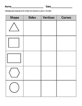 Basic Shape Packet