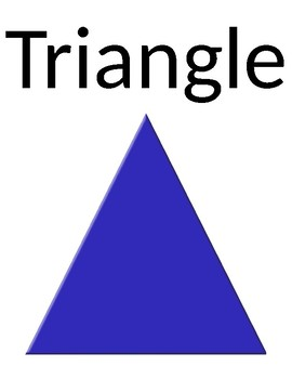Basic Shape Signs