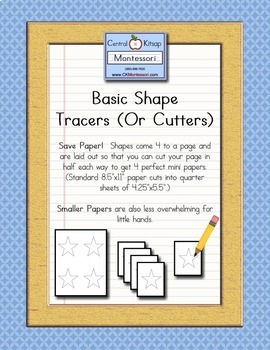 Basic Shape Tracers (or Cutters)