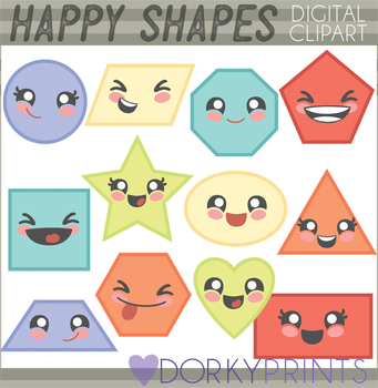 Basic Shapes Clipart