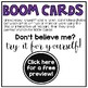 Basic Shapes Boom Task Cards