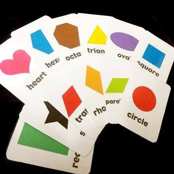 Basic Shapes Flashcards