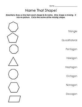Basic Shapes: From Triangles to Decagons