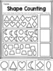 Basic Shapes Learning Pack for PreK (TK), Kindergarten & 1st Grade