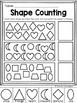 Basic Shapes Learning Pack for PreK (TK), Kindergarten & 1