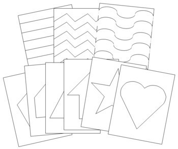 Basic Shapes: Pin-Poke & Cutting